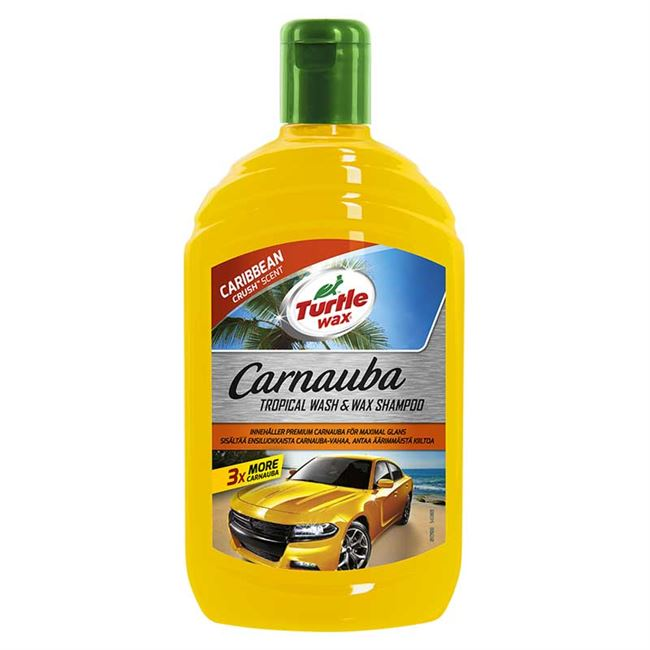 Turtle Carnauba Tropical Shampoo 500 ml.