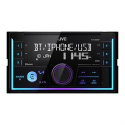 JVC KWX830BT 2 Din radio/ Blutooth/ USB